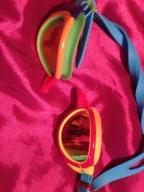 Poor broken colourful goggles