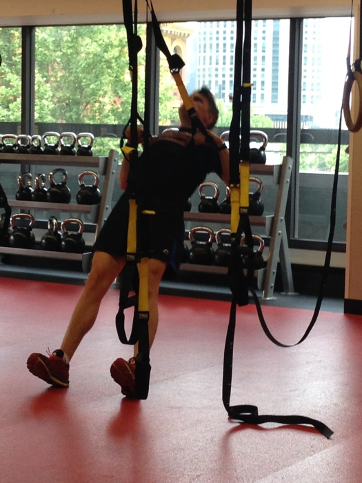 Trying out TRX