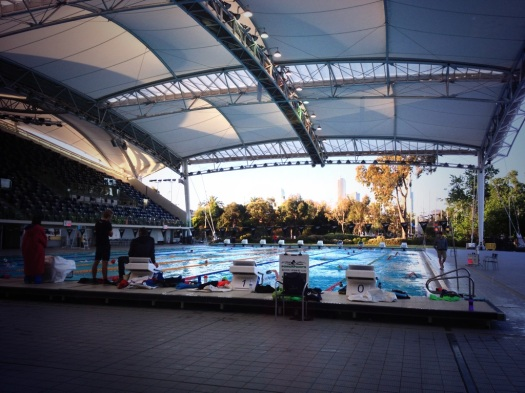 Not a bad pool to train in