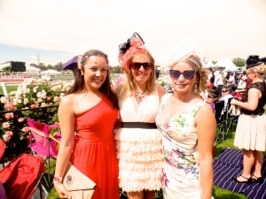 Girls at cup day
