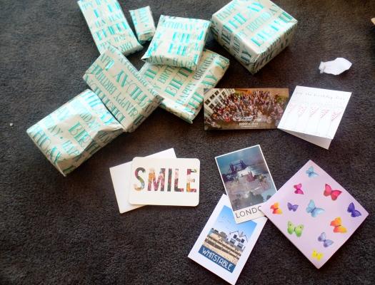 A box full of goodies