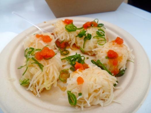 Prawn noodle dumplings