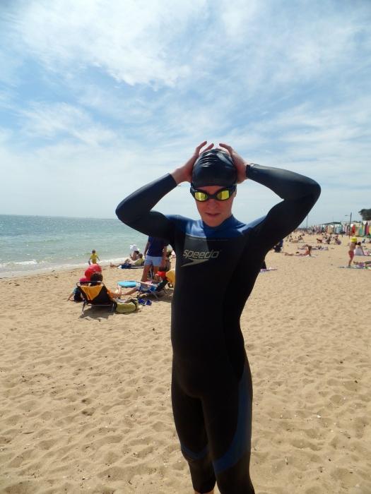 Post swim fear