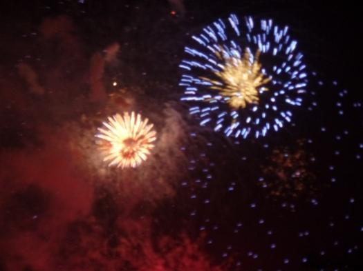 Amazing amazing fireworks